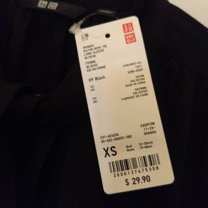 Two Blouse Bundle: Uniqlo and H&M